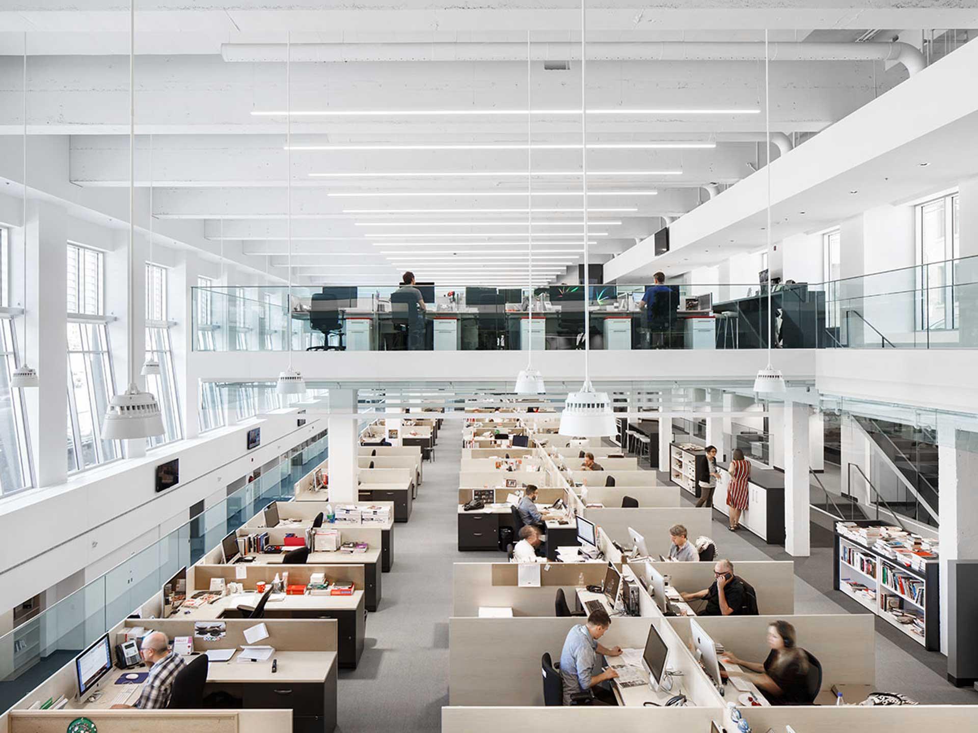 Les bureaux la presse pano