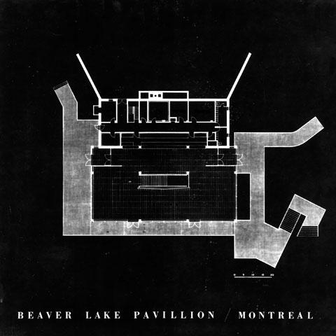 Beaver Lake Pavilion<br>1958