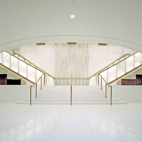 Le Grand escalier de la Place des Arts<br>2002