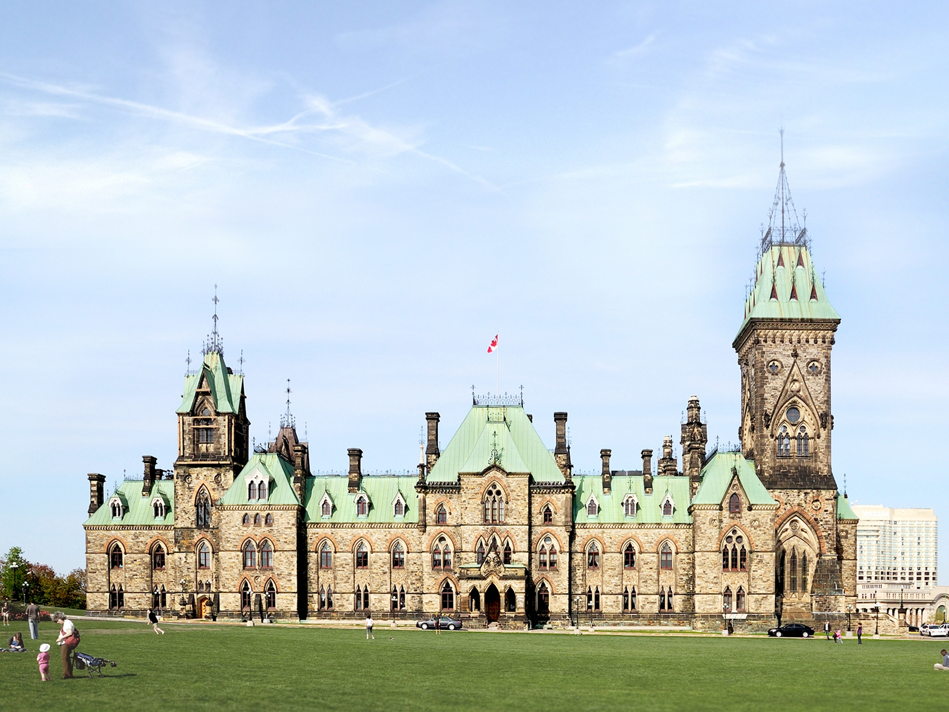 East Block – Parliament Hill<br>In progress