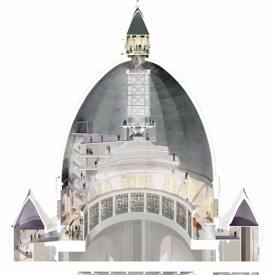 Saint-Joseph's Oratory Museum and Dome Development Project Recognized at the 2018 Canadian Architect Awards
