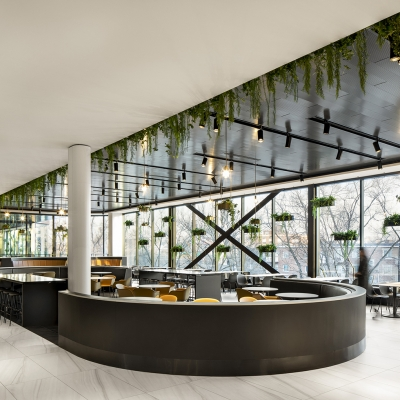 «La cuisine» du Centre Rockland a remporté le Grand prix Aire commune commerciale aux GRANDS PRIX DU DESIGN 2020