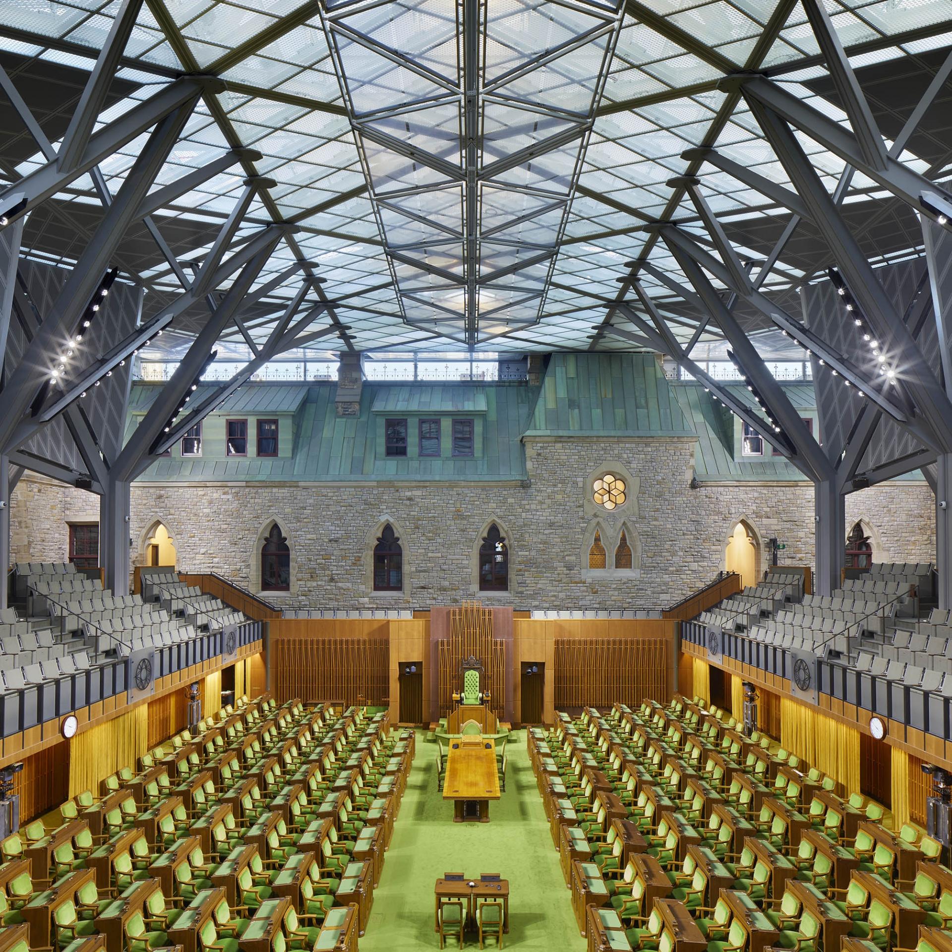 Réhabilitation de l'Édifice de l'Ouest sur la Colline parlementaire<br>2018
