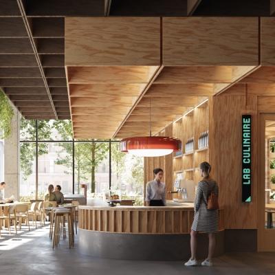 Architecture49 / Pelletier de Fontenay / Atelier Zébulon Perron / CIMA+ lauréats du Concours pour l'aménagement du centre Sanaaq