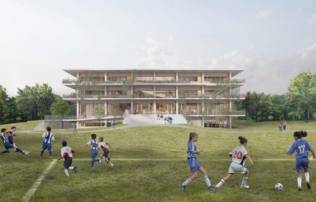 00_Collège_Sainte-Anne_Atelier_Pierre_Thibault_Architecture49_rendu_facade ouest_low