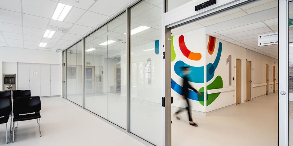 Nouvelle unité d'oncologie de l'Hôpital Maisonneuve-Rosemont<br>2020<br>