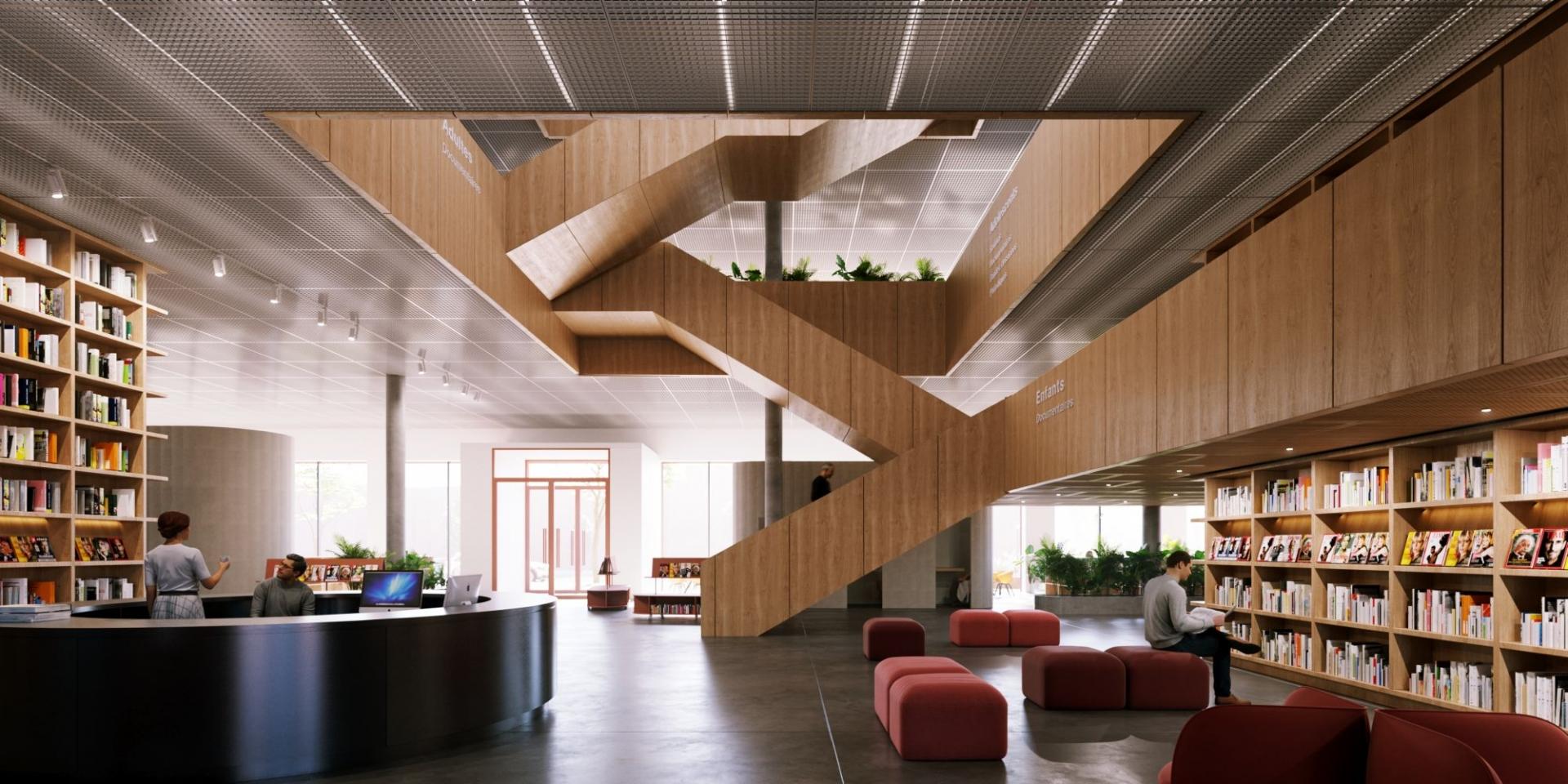 Concours d'architecture pluridisciplinaire – Place des pionniers <br>2021<br>